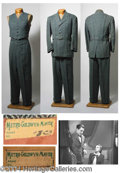Autographs, Gene Kelly Suit Worn in For Me and My Gal (1942)