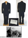 Autographs, Rex Harrison 2-Piece Suit Worn in The Ghost and Mrs. Muir (1947)