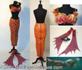 Autographs, Doris Day Mermaid Outfit Worn in Glass Bottom Boat (1966)