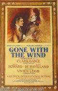 Autographs, Gone with the Wind Original 1st release Poster