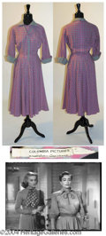 Autographs, Joan Crawford Dress Worn in Harriet Craig (1950)