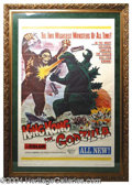 Autographs, King Kong Vs. Godzilla framed Poster
