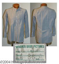 Autographs, Edward G. Robinson Dress Shirt Worn in Larceny, Inc. (1942)