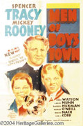 Autographs, Men of Boys Town 1941 One Sheet Poster
