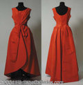 Autographs, Agnes Moorehead Owned & Worn Evening Gown
