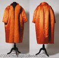 Autographs, Agnes Moorehead Owned & Worn Evening Coat
