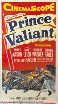 Autographs, Prince Valiant (1954) Original 3-Sheet Poster