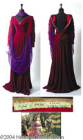 Autographs, Debra Paget Medieval Dress Worn in Prince Valiant (1954)