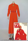 Autographs, Debbie Reynolds Costume from TV Guide