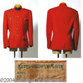 Autographs, Howard Keel Mountie's Coat from Rose Marie (1954)