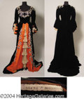 Autographs, Tallulah Bankhead Elaborate Ball Gown from A Royal Scandal (1945)