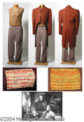 Autographs, George Sanders Outfit Worn in Son of Fury (1942)