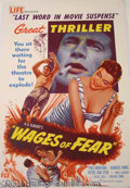 Autographs, The Wages of Fear 1955 English One Sheet