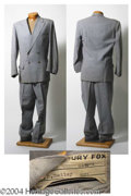 Autographs, Dan Dailey Suit Worn in When My Baby Smiles at Me (1948)