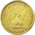 Territorial Gold, 1853 $20 Assay Office Twenty Dollar, 900 Thous.--Cleaned--ANACS.VF20 Details....