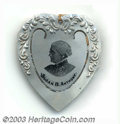 Suffragette Material, Susan B. Anthony aluminum bookmark. This heart-shaped ...