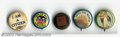 "Suffragette Material, Five Women's Suffrage buttons. Includes a 7/8"" ... (5 items)"