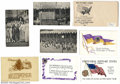 Suffragette Material, Women's Suffrage postcards and envelope. Includes an ... (8 items)
