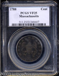 Colonials: , 1788 1C Massachusetts Cent VF25 PCGS. Ryder 2-B, R.1. The ...