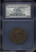 Colonials: , 1786 COPPER New Jersey Copper, Narrow Shield XF40 Details, ...