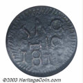 Colonials: , 1818 1/2RL New Spain (Texas) Jola Half Real, Large Planchet ...