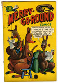 "Golden Age (1938-1955):Funny Animal, Merry-Go-Round Comics #2 Davis Crippen (""D"" Copy) pedigree (LaSalle/Croyden/Rotary, 1948) Condition: VG...."