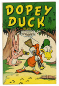 "Golden Age (1938-1955):Funny Animal, Dopey Duck #1 Davis Crippen (""D"" Copy) pedigree (Timely, 1945)Condition: VF...."