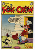 """Golden Age (1938-1955):Funny Animal, Fox and the Crow #6 Davis Crippen (""""D"""" Copy) pedigree (DC, 1952)Condition: VG...."""