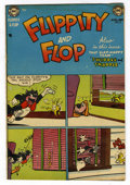 "Golden Age (1938-1955):Funny Animal, Flippity and Flop #5 Davis Crippen (""D"" Copy) pedigree (DC, 1952)Condition: VF...."