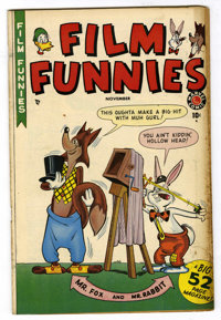 "Film Funnies #1 Davis Crippen (""D"" Copy) pedigree (Marvel, 1949) Condition: VF-"