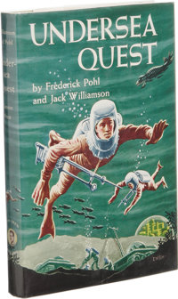 Frederik Pohl and Jack Williamson: Undersea Quest Signed First Edition. (New York: Gnome Press, 1954), first edition
