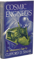 Books:First Editions, Clifford D. Simak: Cosmic Engineers. (New York: Gnome Press,1950), first edition, 224 pages, illustrated by Edd Cartier...