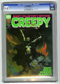Magazines:Horror, Creepy #91 (Warren, 1977) CGC NM/MT 9.8 Off-white to white pages....