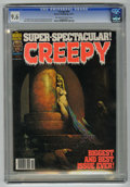 Magazines:Horror, Creepy #92 (Warren, 1977) CGC NM+ 9.6 Off-white to white pages. ...