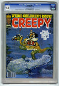 Magazines:Horror, Creepy #94 (Warren, 1978) CGC NM/MT 9.8 Off-white to white pages....