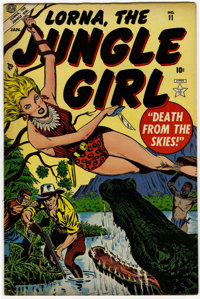 Lorna The Jungle Girl #10 and 11 Group (Atlas, 1953).... (Total: 2)