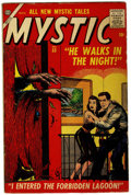 Golden Age (1938-1955):Horror, Mystic #53 and 61 Group (Atlas, 1954) Condition: Average VG+....(Total: 2)