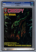 Magazines:Horror, Creepy Annual 1971 (Warren, 1971) CGC NM/MT 9.8 Off-white pages. You can't beat this issue's lineup of artists -- how do Nea...