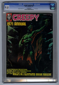 Creepy Annual 1971 (Warren, 1971) CGC NM/MT 9.8 Off-white pages