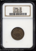Proof Two Cent Pieces: , 1868 2C PR65 Red and Brown NGC. Bright ruby-red and gold ...