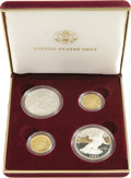 Modern Issues, 1997 Jackie Robinson Four-Coin Set in Original Mint Holder.... (Total: 4 coins)