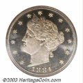 1884 5C PR68 Cameo NGC. This date is always available in lower grades, but for some reason, Superb quality examples (and...