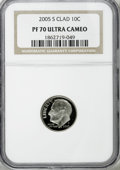 Proof Roosevelt Dimes: , 2005-S 10C Clad PR70 Deep Cameo NGC. . PCGS Population (63/0).Numismedia Wsl. Price for NGC/PCGS coin ...