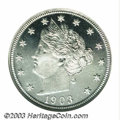 1903 5C PR68 Cameo NGC. The original mintage of the proof 1903 Nickel is a not all that generous 1,790 pieces. What's mo...