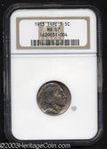 Buffalo Nickels: , 1913 5C Type One MS67 NGC. Creamy, vibrant, and ...