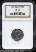 1936 5C Type Two--Brilliant Finish PR68 NGC. From a technical as well as an aesthetic viewpoint, this is one of the fine...