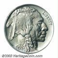 Proof Buffalo Nickels: , 1937 5C PR67 PCGS. Mostly brilliant with just the ...