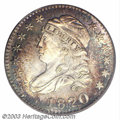 Bust Dimes: , 1820 10C Large 0 MS68 PCGS. JR-9, R.4. An exquisite Large ...