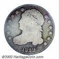 Bust Dimes: , 1829 10C Curl Base 2 Good 6 PCGS. JR-10, R.6. One of the ...