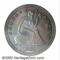 Proof Seated Quarters: , 1881 25C PR66 PCGS. Briggs 2-B. The second 8 in the date ...